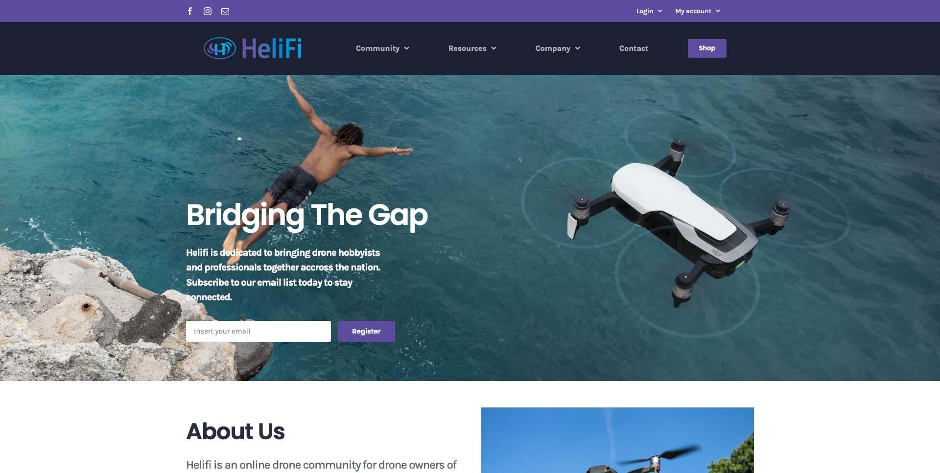 Fold - HeliFi – Drone Community And Shop - helifi