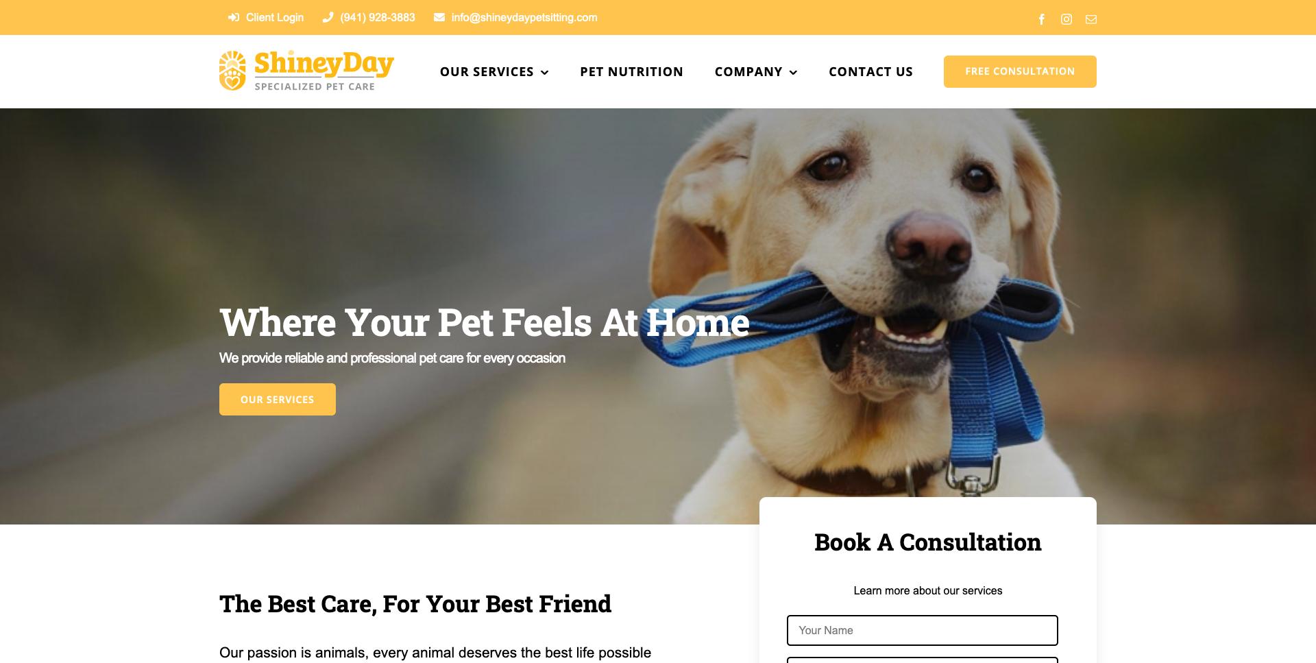 Fold - Shiney Day Pet Sitting - Professional Care - Sarasota, Venice, Braden_ - shineydaypetsitting.com
